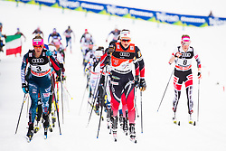 January 6, 2018 - Val Di Fiemme, ITALY - 180106 Ingvild Flugstad ¯stberg of Norway competes in women's 10km mass start classic technique during Tour de Ski on January 6, 2018 in Val di Fiemme..Photo: Jon Olav Nesvold / BILDBYRN / kod JE / 160122 (Credit Image: © Jon Olav Nesvold/Bildbyran via ZUMA Wire)