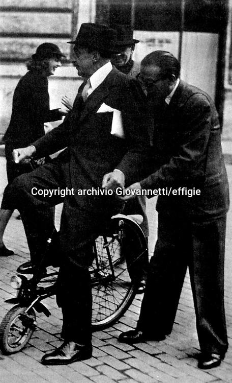 Trilussa (Carlo Alberto Salustri)<br />archivio Giovannetti/effigie