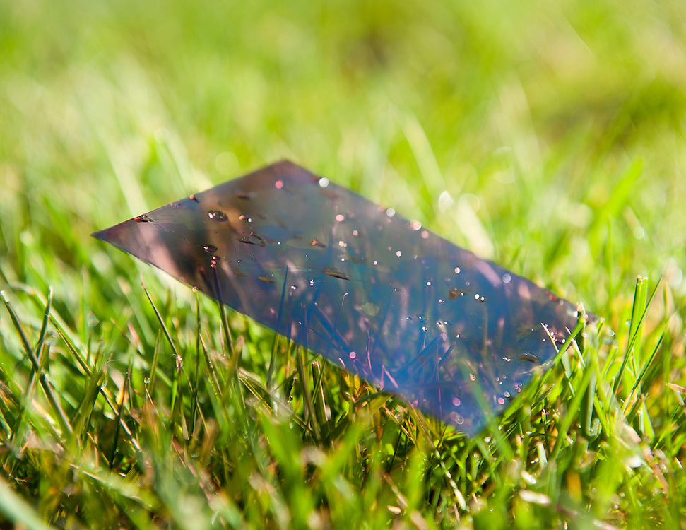 The first completely plastic solar cell, engineered by a team lead by Pr. Bernard Kippelen at Georgia Tech.