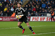 Ben Foster, the West Bromwich Albion goalkeeper in action. .Premier league match, Swansea city v West Bromwich Albion at the Liberty Stadium in Swansea, South Wales on Saturday 9th December 2017.<br /> pic by  Andrew Orchard, Andrew Orchard sports photography.