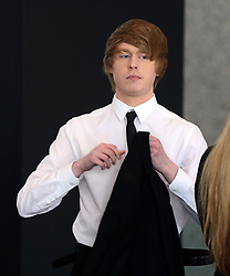 May 3, 2019 - Chicago, IL, USA - Austin Jones enters the Dirksen U.S. Courthouse in Chicago on Friday, May 3, 2019. (Credit Image: © TNS via ZUMA Wire)