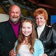 NLD/Amsterdam/20130411 - Presentatie biografie Barry Stevens, Bert Simhoffer en dochter, Pamela Teves