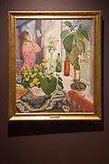 'Sunday' 1912 oil painting on canvas by Nikolai Astrup 1880-1928, Kode 4 art gallery Bergen, Norway