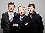 Ferruccio Berutti, AD di Autochim, assieme ai figli Matteo e Gianluca. L'azienda si occupa di trasporto materiali pericolosi su gomma.