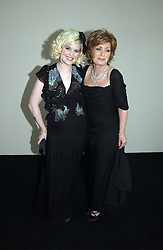 Left to right, KELLY OSBOURNE and SHARON OSBOURNE at the 2006 Glamour Women of the Year Awards 2006 held in Berkeley Square Gardens, London W1 on 6th June 2006.<br /><br />NON EXCLUSIVE - WORLD RIGHTS
