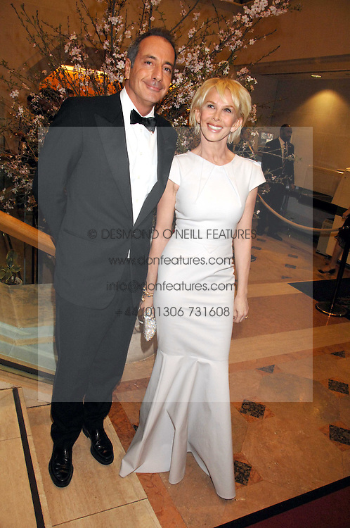 TRUDIE STYLER and SIMON ASTAIRE at the Feast of Albion a sumptious locally-sourced banquet in aid of The Soil Association held at The Guildhall, City of London on 12th March 2008.<br />