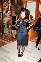 Singer PALOMA FAITH at a party to celebrate the opening of the Louis Vuitton Bond Street Maison, New Bond Street, London on 25th May 2010.