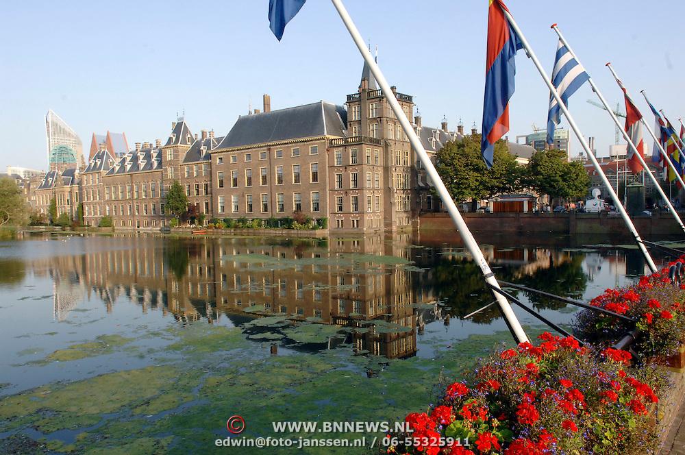 NLD/Den Haag/20060912 - Hofvijver, 2de kamer gebouw Den Haag, zijde Buitenhof Den Haag