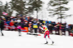 March 9, 2019 - Oslo, NORWAY - 190309 Johannes Høsflot Klæbo of Norway competes in men's 50 km classic technique during the FIS Cross-Country World Cup on March 9, 2019 in Oslo..Photo: Fredrik Varfjell / BILDBYRÃ…N / kod FV / 150211. (Credit Image: © Fredrik Varfjell/Bildbyran via ZUMA Press)