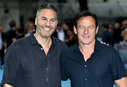 Ol Parker (left) and Jason Issacs attending the Swimming with Men premiere held at Curzon Mayfair, London. Photo credit should read: Doug Peters/EMPICS