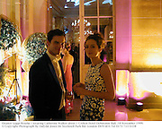 Eleanor Legge-Bourke ( wearing Catherine Walker dress )  Crillon Hotel Debutante Ball. 28 November 1999.<br />© Copyright Photograph by Dafydd Jones 66 Stockwell Park Rd. London SW9 0DA Tel 0171 733 0108