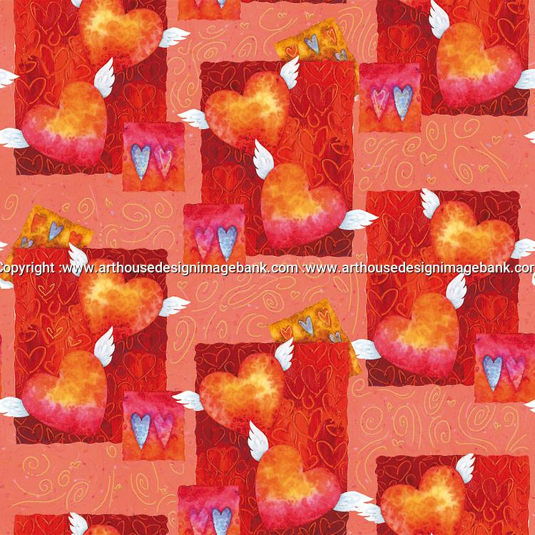 Valentine pattern Valentine pattern