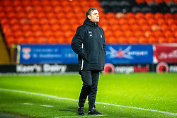 Alloa Athletic's manager Peter Grant. Dundee United 2 v 1 Alloa Athletic, Scottish Championship game played 7/12/2019 at Dundee United's stadium Tannadice Park.