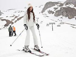 29.04.2011, Ischgl, AUT, Skiurlaub Ruby in Ischgl, Idalpe, im Bild Ruby Rubacuori beim Skilaufen during Skiing at Skiarea Idalp in Ischgl Austria on 29/4/2011. EXPA Pictures © 2011, PhotoCredit: EXPA/ J. Groder