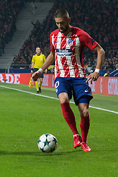 November 22, 2017 - Madrid, Madrid, Spain - Carrasco..during Atletico de Madrid won by 2 to 0 whit goals of Griezmann and Gameiro against Roma. (Credit Image: © Jorge Gonzalez/Pacific Press via ZUMA Wire)
