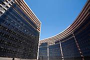 Belo Horizonte_MG, Brasil...Detalhe do Centro Administrativo de Minas Gerais em Belo Horizonte, obra de Oscar Niemeyer...Centro Administrativo de Minas Gerais in Belo Horizonte, Its an Oscar Niemeyer project...Foto: LEO DRUMOND / NITRO