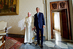Italy: U.S Secretary of State Kerry With Pope Francis, 2 Dec. 2016