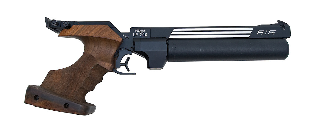 Competition air pistol.