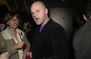 Gavin Turk. Opening of the Absolut Icebar. Heddon St. London. 29 September 2005. ONE TIME USE ONLY - DO NOT ARCHIVE © Copyright Photograph by Dafydd Jones 66 Stockwell Park Rd. London SW9 0DA Tel 020 7733 0108 www.dafjones.com