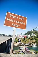 Depoe Bay, Oregon.