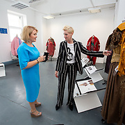 """03.06.2018.        <br /> An In-FLUX of visitors attended LSAD, Limerick School of Art and Design for one of Ireland's largest and most vibrant Graduate Shows.<br /> <br /> Pictured at the event were, Chief Executive of the Design & Crafts Council of Ireland, Karen Hennessy who officially opened the Flux Exhibition with Anne Melinn, Head of Fashion LSAD.<br /> <br /> More than 200 Fine Art and Design students' work went on display from June 2 to June 10, 2018 at the LSAD Graduate Show - FLUX.<br /> LSAD has been central to Art, Craft and Design in the Limerick and Midwest region since 1852.<br />  <br /> The concept, branding and overall design of the 2018 LSAD Graduate Show - FLUX – is student led, and begins this Saturday June 2 and runs until June 10, 2018.<br />  <br /> FLUX encapsulates the movement and change from student to graduate. """"The """"X"""" in """"FLUX"""" represents the students and how they have made their mark in their time at college,"""" explains designers Cathy Hogan and Will Harte as they outline the thinking behind the concept.<br />  <br /> FLUX describes the dynamic movement in the Limerick city region as it overcomes significant issues to become a fulcrum of rejuvenation, vibrant culture, strong industry growth and a centre of design.<br />  <br /> LSAD is also in a state of FLUX as it develops its enterprise potential and engagement with stakeholders across industry, public bodies, third level institutions and other partners overseeing a shift towards design, creativity and connectivity that goes far beyond the walls of its main campus on Clare Street. Picture: Alan Place"""