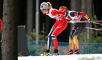 Alpint<br /> FIS World Cup<br /> Nove Mesto Tsjekkia<br /> 12.01.2014<br /> Foto: Gepa/Digitalsport<br /> NORWAY ONLY<br /> <br /> FIS Weltcup, Teambewerb, 6x1,3km Team Sprint der Damen, klassisch. Bild zeigt Kathrine Rolsted Harsem (NOR).