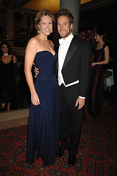 BEN FOGLE and his wife MARINA at The Diner Des Tsars in aid of Unicef to celebrate the launch of Quintessentially Wine held at the Guildhall, London EC2 on 29th March 2007.<br /><br />NON EXCLUSIVE - WORLD RIGHTS