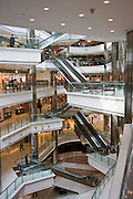 Inside Citic Square Shopping Mall on Nanjing Road, central Shanghai, China