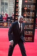 LENNY HENRY, Olivier Awards 2012, Royal Opera House, Covent Garde. London.  15 April 2012.