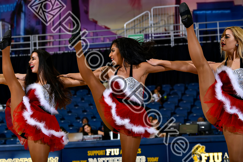 2018 December 15 - FIU Golden Dazzlers at the Ocean Bank Convocation Center, Miami, Florida. (Photo by: Alex J. Hernandez / photobokeh.com) This image is copyright by PhotoBokeh.com and may not be reproduced or retransmitted without express written consent of PhotoBokeh.com. ©2018 PhotoBokeh.com - All Rights Reserved