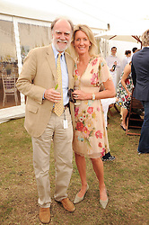 Asprey World Class Cup polo held at Hurtwood Park Polo Club, Ewhurst, Surrey on 17th July 2010.<br /> Picture shows:- VISCOUNT & VISCOUNTESS COWDRAY