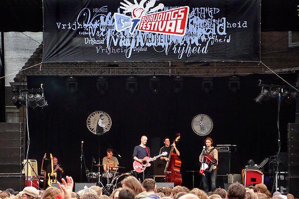 Nederland, Wageningen, 5-5-2009Bevrijdingsfestival.Foto: Flip Franssen/Hollandse Hoogte
