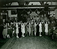 1943 Servicemen and volunteers dancing at the Hollywood Canteen