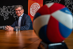 Martin Reesink club president Apollo 8  during the talk show of the Dutch volleyball association. The association wants to start a professionalization process with which they want to strengthen recreational sport in the coming years on March 8, 2021 in Utrecht