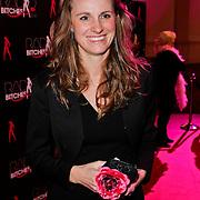 NLD/Amsterdam/20111207- Radiobitches Awards 2011, winnares Radiobitch 2011 Petra Grijzen