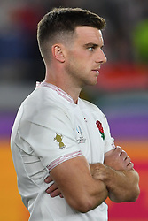 England's George Ford after their 32-12 defeat in the 2019 Rugby World Cup final match at Yokohama Stadium.