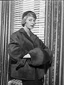 1958- Fur Fashion at Barnados, Grafton Street.