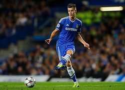 Chelsea Midfielder Marco van Ginkel (NED) in action during the first half of the match - Photo mandatory by-line: Rogan Thomson/JMP - Tel: 07966 386802 - 18/09/2013 - SPORT - FOOTBALL - Stamford Bridge, London - Chelsea v FC Basel - UEFA Champions League Group E