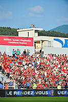Supporters Albanie - 13.06.2015 - Albanie / France - Match Amical - Tirana<br />