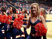 CHARLOTTESVILLE, VA- NOVEMBER 13: The Virginia Cavalier dancer perform during the game on November 13, 2011 at the John Paul Jones Arena in Charlottesville, Virginia. Virginia defeated South Carolina State 75-38. (Photo by Andrew Shurtleff/Getty Images) *** Local Caption ***