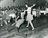 1944 Jitterbug dancers at Trocadero Cafe Nightclub in West Hollywood