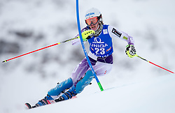 29.12.2014, Hohe Mut, Kühtai, AUT, FIS Ski Weltcup, Kühtai, Slalom, Damen, 1. Durchgang, im Bild Resi Stiegler (USA) // Resi Stiegler of the USA in action during 1st run of Ladies Slalom of the Kuehtai FIS Ski Alpine World Cup at the Hohe Mut Course in Kuehtai, Austria on 2014/12/29. EXPA Pictures © 2014, PhotoCredit: EXPA/ JFK