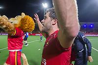 ANTWERPEN - Cédric Charlier (Belgie)    na  de finale mannen  Belgie-Spanje (5-0),  bij het Europees kampioenschap hockey. Belgie Europees Kampioen.   COPYRIGHT KOEN SUYK