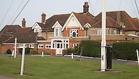 SANDWICH (GB) - Clubhouse. The Royal St. George's Golf Club (1887), één van de oudste en meest beroemde golfclubs in Engeland. COPYRIGHT KOEN SUYK