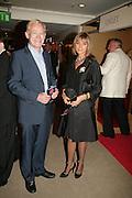 CHRIS GRIFFITHS AND ANGELA FINEMAN,  Grosvenor House Art & Antiques Fair charity gala evening in aid of Coram Foundation. Grosvenor House. Park Lane. London. 14 June 2007.  -DO NOT ARCHIVE-© Copyright Photograph by Dafydd Jones. 248 Clapham Rd. London SW9 0PZ. Tel 0207 820 0771. www.dafjones.com.