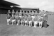 04/09/1966<br /> 09/04/1966<br /> 4 September 1966<br /> All-Ireland Senior Hurling Final: Kilkenny v Cork at Croke Park, Dublin.<br /> The Cork team which defeated the Kilkenny team in the All-Ireland Senior Hurling Final  in 1966.