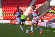 James Coppinger of Doncaster Rovers (26) in action during the EFL Sky Bet League 1 match between Doncaster Rovers and Plymouth Argyle at the Keepmoat Stadium, Doncaster, England on 13 April 2019.
