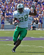 Marshall runningback Chubb Small rushes up field against Kansas State in the second quarter at Bill Snyder Family Stadium in Manhattan, Kansas, September 16, 2006.  The Wildcats beat the Thundering Herd 23-7.