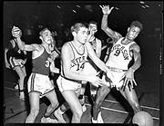 Lincoln vs. Jefferson basketball.. January 22, 1952.