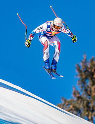 22.01.2019, Streif, Kitzbühel, AUT, FIS Weltcup Ski Alpin, Abfahrt, Herren, 1. Training, im Bild Matthieu Bailet (FRA) // Matthieu Bailet of France during the 1st Training of mens downhill of FIS Ski Alpine Worldcup at the Streif in Kitzbühel, Austria on 2019/01/22. EXPA Pictures © 2019, PhotoCredit: EXPA/ Stefan Adelsberger